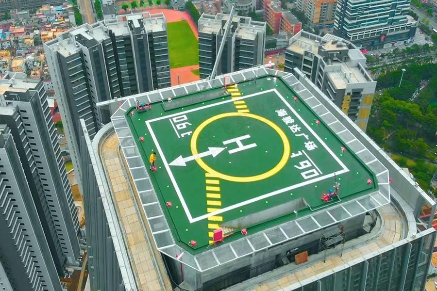 广东佛山▪海骏达广场 商务飞行直升机停机坪